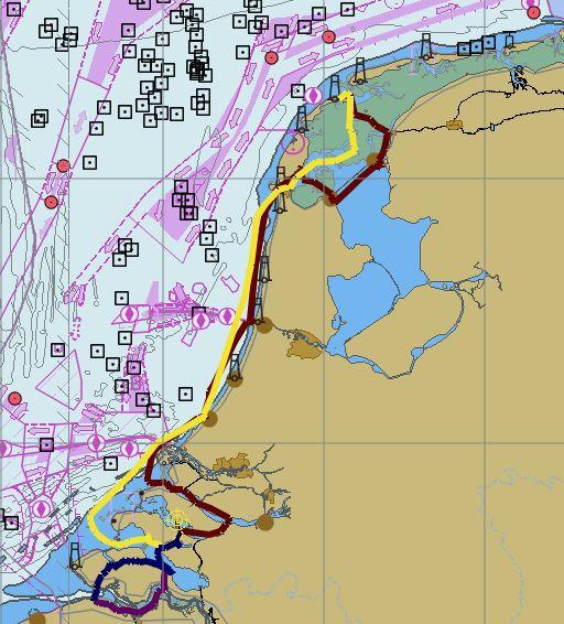 Route Augustus Noord en Zuid Nederland